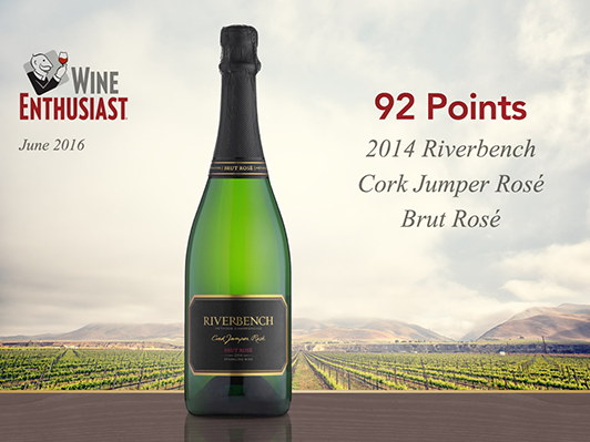 2014 Riverbench Cork Jumper Brut Rosé